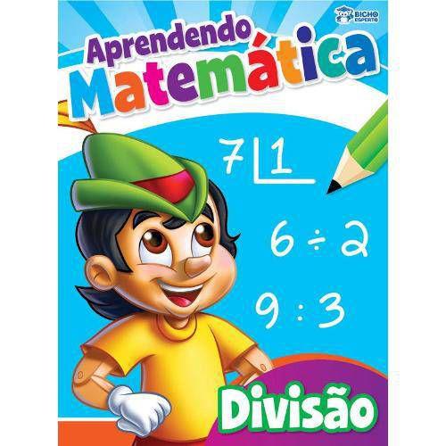 LIVRO APRENDENDO MATEMATICA-DIVISAO BICHO ESPERTO
