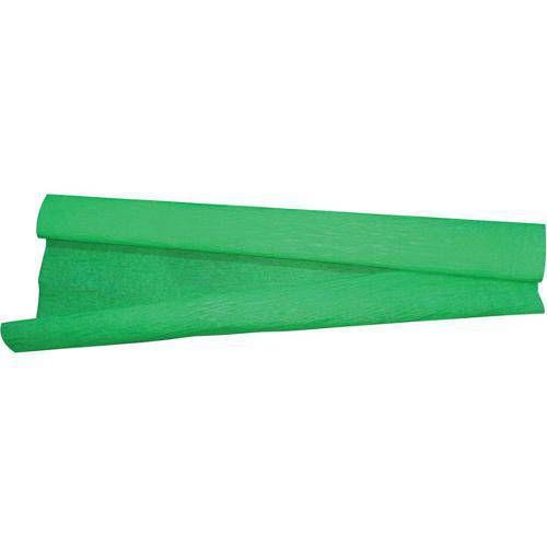 Papel Crepon 48cmx2,00m.Verde Bandeira Pct.C/10 V.M.P.