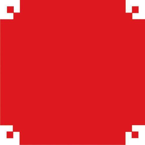 Papel Camurca 40x60cm. Vermelho V.m.p.