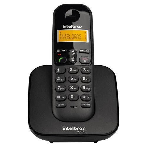 Intelbras Telefone S/fio Ts3110 Preto 4123110