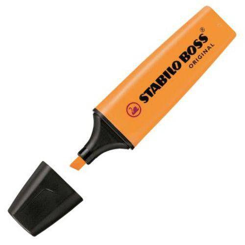 Pincel marca texto Boss 70 - laranja - Stabilo