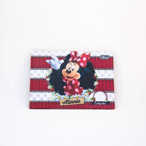 CADERNO CALIGRAFIA HOR CD BROCH 40F MINNIE TILIBRA