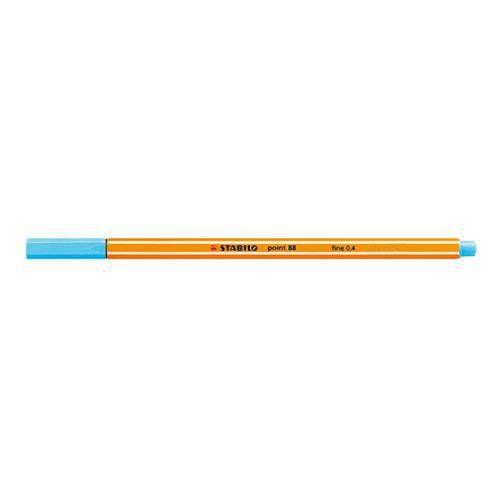 Caneta Stabilo Point 88 0.4Mm - Azul Claro -  Stabilo