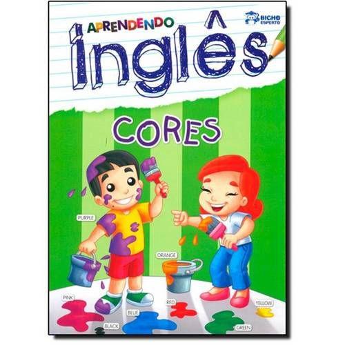 LIVRO APRENDENDO INGLES-CORES BICHO ESPERTO