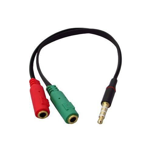 Cabo Hitto P2 C/3 Aneis para Headset - Fone e Microfone 20162
