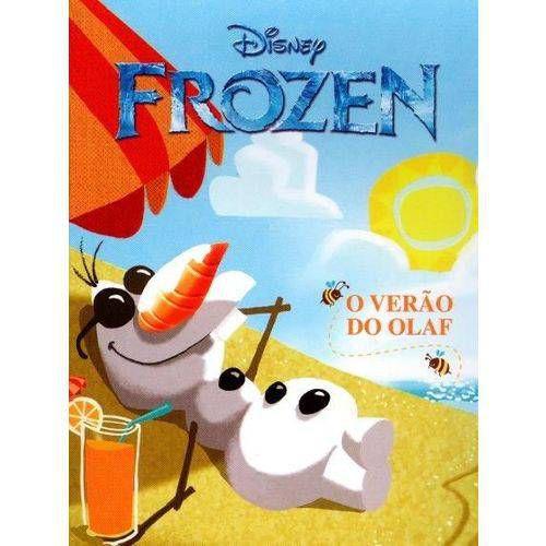 LIVRO DISNEY MINI FROZEN O VERAO DE OLAF (BICHO ESPERTO)
