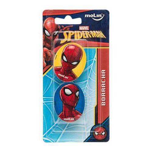 Borracha Homem Aranha - Com 2 Unidades - 14180 - Molin