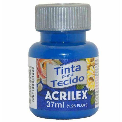 Tinta Para Tecido Fosca 37ml 501 Azulturqueza  Acrilex