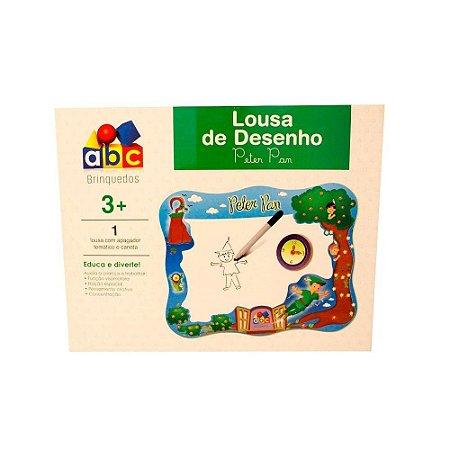 BRINQUEDO EDUCATIVO LOUSA DE DESENHO PETER PAN (ABC BRINQUEDOS)