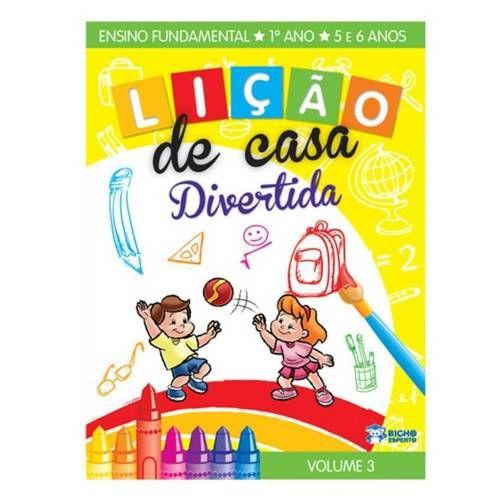 LIVRO LICAO DE CASA DIVERTIDA MEIO AMBIENTE 1ANO V.3 BICHO ESPERTO