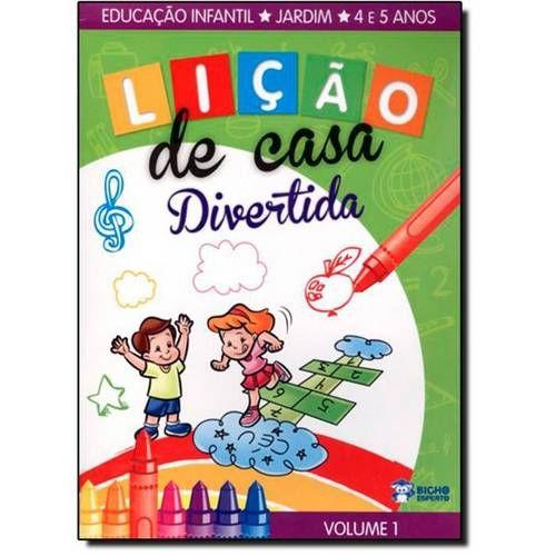 LIVRO LICAO DE CASA DIVERTIDA MEIOS COMUNICACACAO JARD.1 BICHO ESPERTO