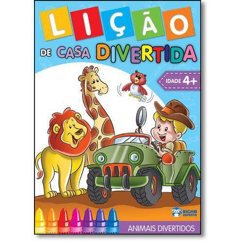 LIVRO LICAO DE CASA DIVERTIDA ANIMAIS DIVERTIDOS ( JARD.2)(BICHO ESPERTO)