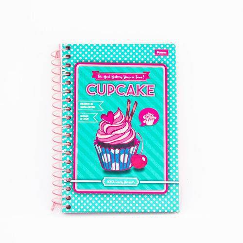 Caderneta Escolar Cd 96 Cupcake Foroni