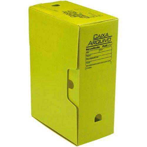 Arquivo Box Amarela