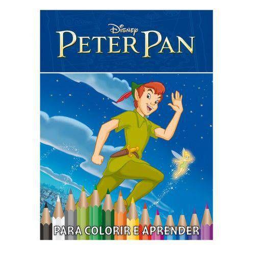 Kit Disney Com DVD - Peter Pan - Caixa Com 5 Em 1