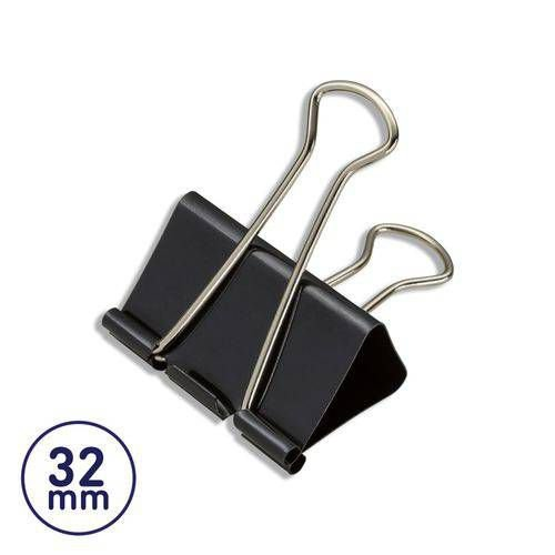Binder Clip Para Papel 32mm Brw