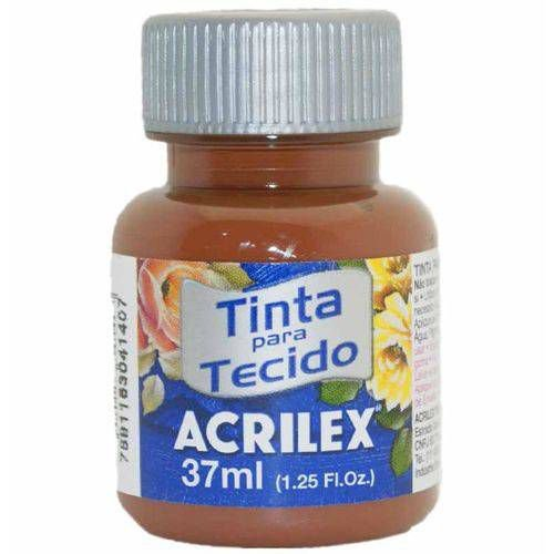 TINTA TECIDO 37ML MARROM ACRILEX 531