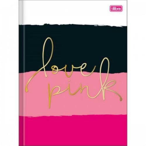 Caderno Brochurao C/D 96 Folhas Love Pink Tilibra