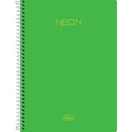 CAD ESP 1/4 VERDE NEON 96F S/ PAUTA (TILIBRA)