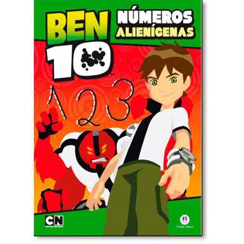 LIVRO BEN 10 NUMEROS ALIENIGENAS CIRANDA CULTURAL