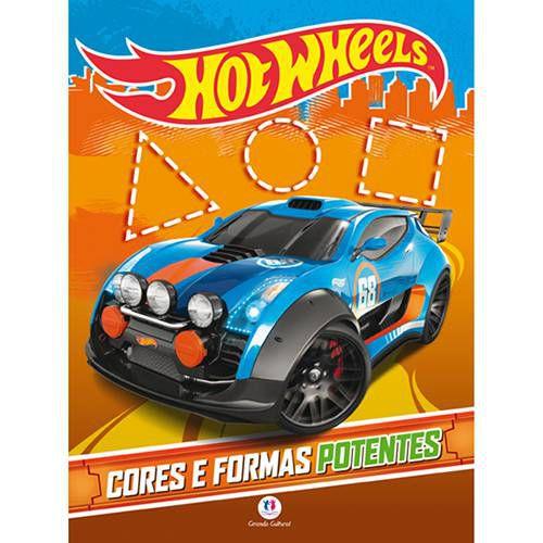 Livro - Hot Wheels Cores E Formas Potentes
