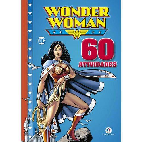 Livro 60 Atividades - Mulher Maravilha