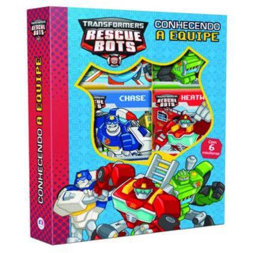 Box - Transformers - Conhecendo A Equipe
