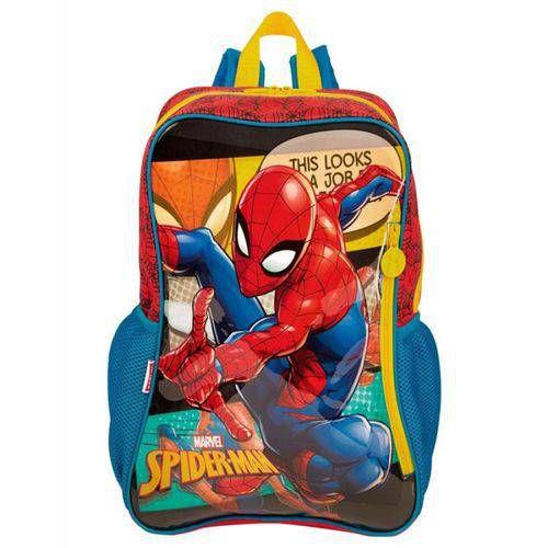 Mochila G Spiderman 19m Colorido - 065343-01