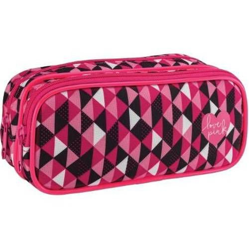 Estojo Tilibra Love Pink Duplo G 282791