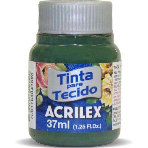 Tinta Tecido Fosca 037ml Verde Pinheiro Acrilex