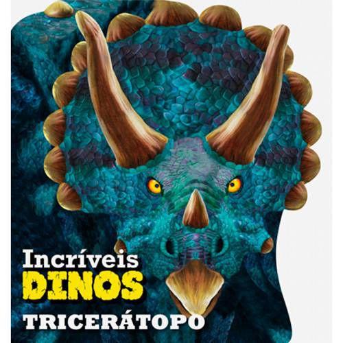LIVRO CD TRICERATOPO INCRIVEIS DINOS (CIRANDA CULTURAL)