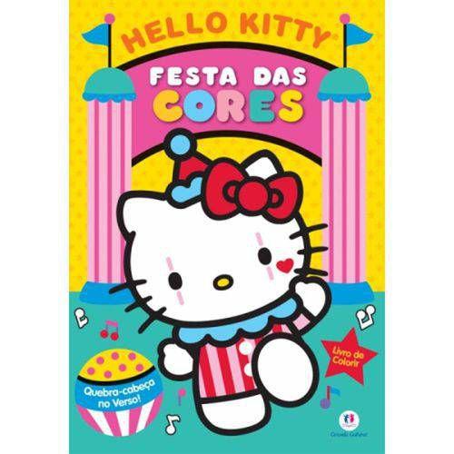 Hello kitty: festa das cores - livro medio de colo