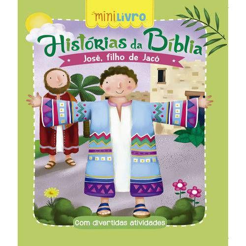MINI LIVRO HISTORIAS DA BIBLIA JOSE FILHO DE JACO (CIRANDA CULTURAL)