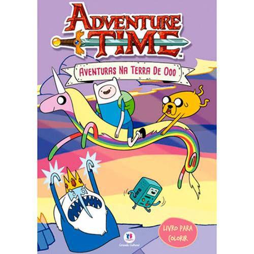 Livro - Hora de Aventura-Aventuras na Terra Ooo