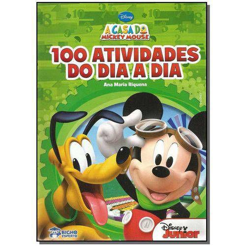 LIVRO ESCOLINHA DIVERTIDA DISNEY-100 ATIV.DO DIA A DIA(BICHO ESPERTO)