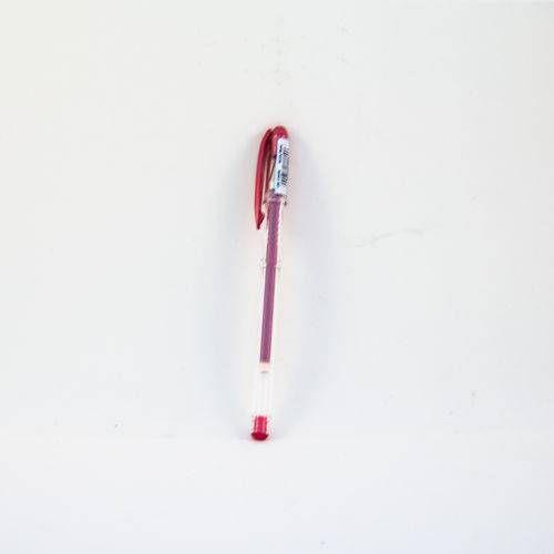 Caneta Gel Uni-ball Signo Noble Metal Vermelha
