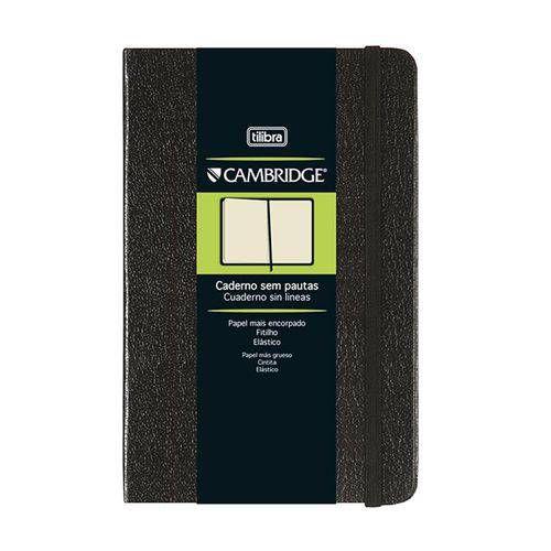 CADERNO CD CAMBRIDGE M 80F S/ PAUTA C/ FITTO (TILIBRA)
