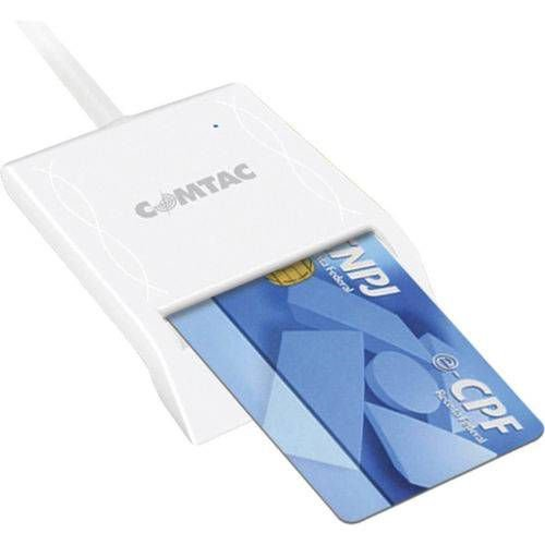 LEITOR CARTAO CNPJ (SMARTCARD)(USB)(COMTAC)(9202)