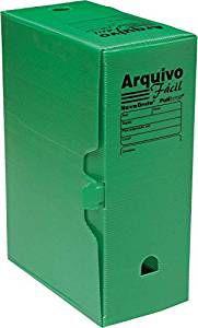 ARQUIVO MORTO 35X25X13 VERDE POLIBRAS 40708