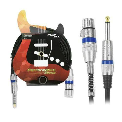 CABO P10  1 P10-M X 1 CANON XLR-F 5,0M CHIP 018-8013