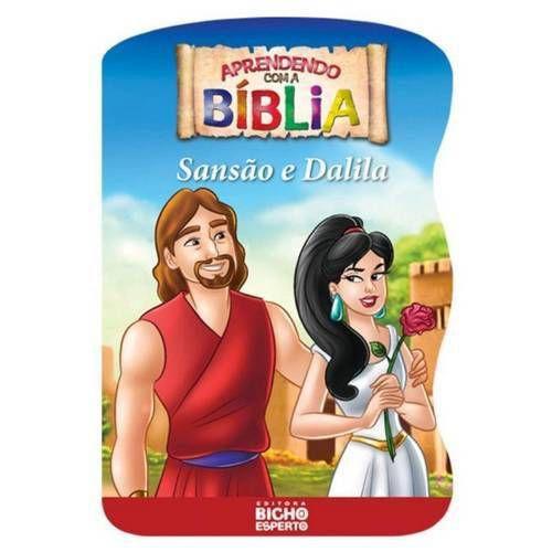 LIVRO APRENDENDO COM A BIBLIA-SANSAO E DALILA BICHO ESPERTO