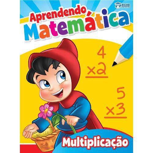 LIVRO APRENDENDO MATEMATICA-MULTIPLICACAO(BICHO ESPERTO)