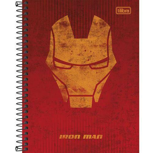 CADERNO CD COLEG 01 MAT AVENGERS HEROIS (TILIBRA)