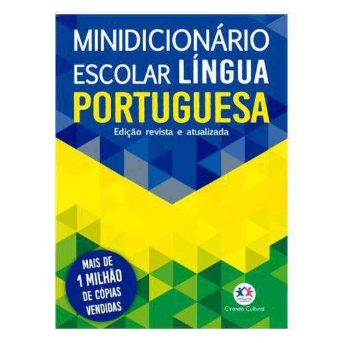 DICIONARIO MINI DA LINGUA PORTUGUESA CIRANDA CULTURAL