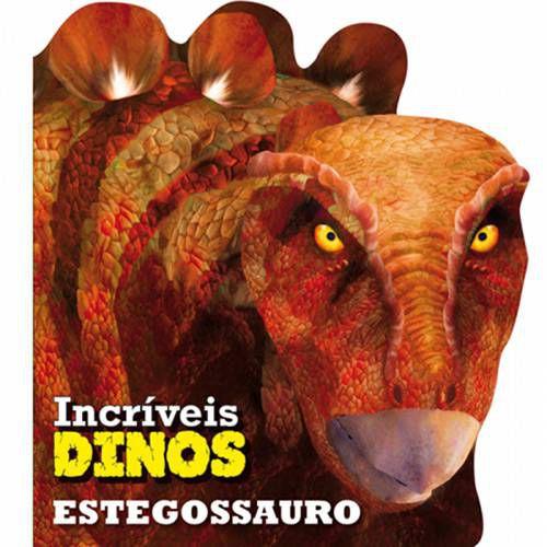 LIVRO CD ESTEGOSSAURO INCRIVEIS DINOS (CIRANDA CULTURAL)
