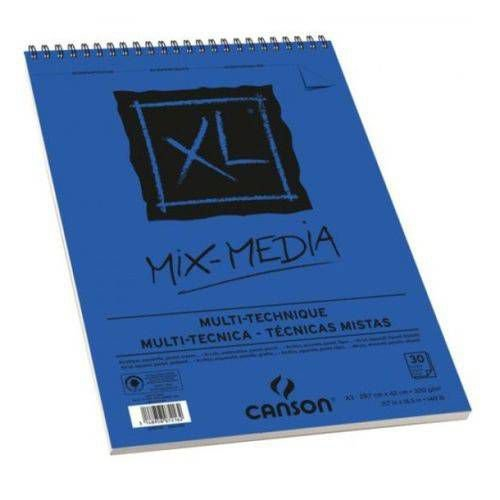 BLOCO ESP MIX MEDIA A4 30F 300G CANSON