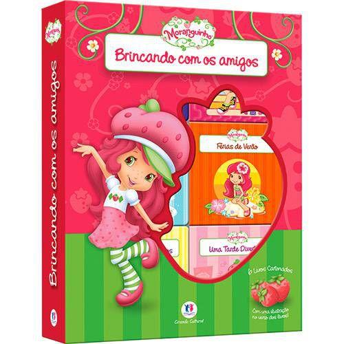 LIVRO BOX MORANGUINHO BRINCANDO COM OS AMIGOS C/ 6 MINILIVROS CIRANDA CULTURAL