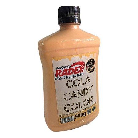 COLA CANDY COLOR PASTEL NUDE (500G)(RADEX) 7826