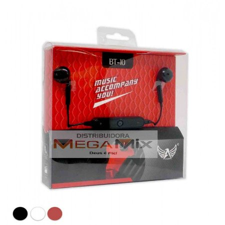 Fone com Microfone Bluetooth BT-10 - Altomex