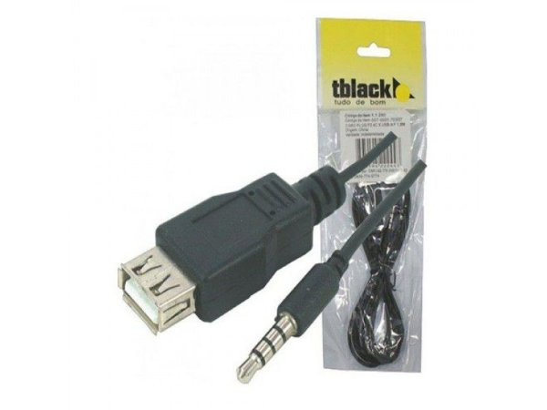 CABO USB X P2 USB-FEMEA X P2-MACHO